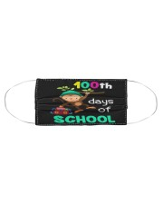 Monkey 100th days of school Cloth face mask aos-face-mask-coverlet-lifestyle-front-01