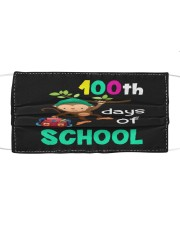 Monkey 100th days of school Cloth face mask front