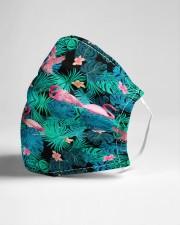 Aloha flamingo Cloth face mask aos-face-mask-lifestyle-21