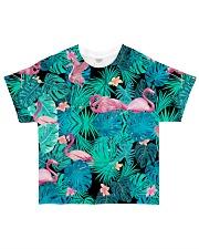 Aloha flamingo All-Over T-Shirt tile