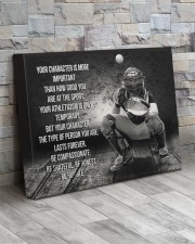 baseball your character is more important 20x16 Gallery Wrapped Canvas Prints aos-canvas-pgw-20x16-lifestyle-front-20