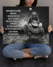 baseball your character is more important 20x16 Gallery Wrapped Canvas Prints aos-canvas-pgw-20x16-lifestyle-front-22