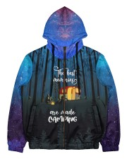 camping memory all over printed Men's All Over Print Full Zip Hoodie thumbnail