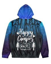 camping memory all over printed Women's All Over Print Hoodie back