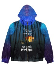 camping memory all over printed Women's All Over Print Full Zip Hoodie thumbnail