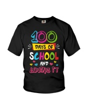 100 days of school and loving it Youth T-Shirt tile