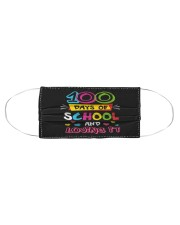 100 days of school and loving it Cloth face mask aos-face-mask-coverlet-lifestyle-front-01