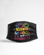 100 days of school and loving it Cloth face mask aos-face-mask-lifestyle-22