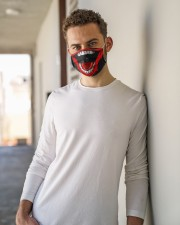 horror fm Cloth face mask aos-face-mask-lifestyle-10