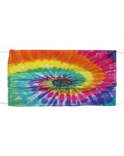 SF tie dye 01 Cloth face mask front