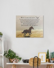 horse the ride goes on 20x16 Gallery Wrapped Canvas Prints aos-canvas-pgw-20x16-lifestyle-front-03