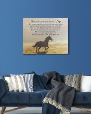 horse the ride goes on 20x16 Gallery Wrapped Canvas Prints aos-canvas-pgw-20x16-lifestyle-front-06