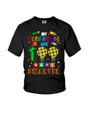 My preschool are 100 days smarter Youth T-Shirt thumbnail