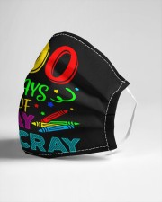 100 days of cray cray Cloth face mask aos-face-mask-lifestyle-21