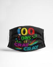100 days of cray cray Cloth face mask aos-face-mask-lifestyle-22