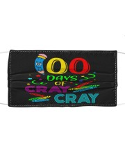 100 days of cray cray Cloth face mask front