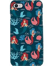 mermaid mask Phone Case thumbnail