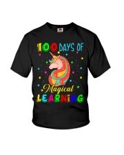 100 days of magical learning Youth T-Shirt thumbnail
