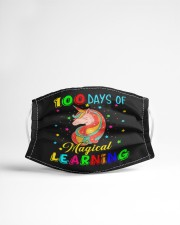 100 days of magical learning Cloth face mask aos-face-mask-lifestyle-22