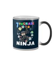 7TH Grade Ninja school Color Changing Mug thumbnail