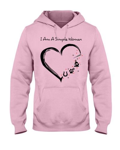 I am a simple woman heart MLS horse shoe