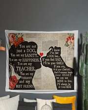 """Dog girl tapestry Wall Tapestry - 60"""" x 51"""" aos-wall-tapestry-80x68-lifestyle-front-01"""