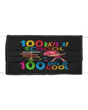 100 days of cool Cloth face mask front