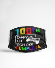 100th day of shcool complete Cloth face mask aos-face-mask-lifestyle-22
