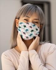 cute sea turtle Cloth face mask aos-face-mask-lifestyle-17