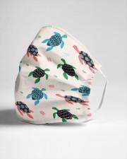 cute sea turtle Cloth face mask aos-face-mask-lifestyle-21