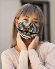 german shepherd Line mask Cloth Face Mask - 5 Pack aos-face-mask-lifestyle-17