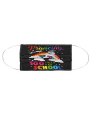 Prancing Through 100 days of school Cloth face mask aos-face-mask-coverlet-lifestyle-front-01