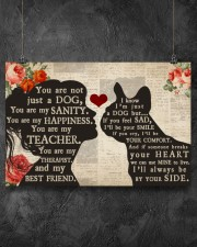 French Bulldog girl poster 24x16 Poster aos-poster-landscape-24x16-lifestyle-13