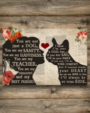 French Bulldog girl poster 24x16 Poster aos-poster-landscape-24x16-lifestyle-15
