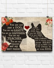 French Bulldog girl poster 24x16 Poster aos-poster-landscape-24x16-lifestyle-18