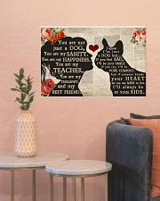 French Bulldog girl poster 24x16 Poster poster-landscape-24x16-lifestyle-22