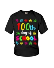 100th day of school design Youth T-Shirt tile