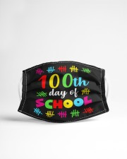 100th day of school design Cloth face mask aos-face-mask-lifestyle-22