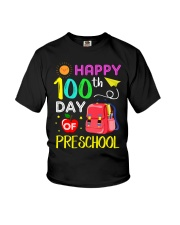 Happy 100th day of preschool Youth T-Shirt thumbnail