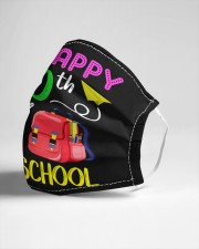 Happy 100th day of preschool Cloth face mask aos-face-mask-lifestyle-21