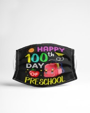 Happy 100th day of preschool Cloth face mask aos-face-mask-lifestyle-22