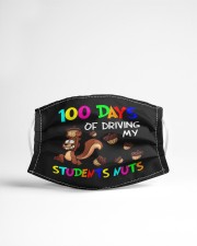 100 days of driving my students nuts Cloth face mask aos-face-mask-lifestyle-22