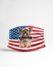 yorkshire terrier us flag fm Cloth face mask aos-face-mask-lifestyle-22