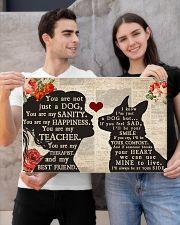 german shepherd girl poster 24x16 Poster poster-landscape-24x16-lifestyle-21