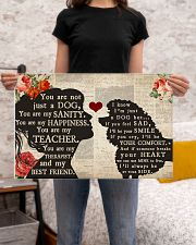 poodle girl poster 24x16 Poster poster-landscape-24x16-lifestyle-20