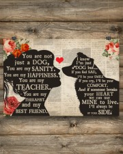 Border Collie girl poster 24x16 Poster aos-poster-landscape-24x16-lifestyle-15