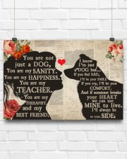 Border Collie girl poster 24x16 Poster aos-poster-landscape-24x16-lifestyle-18