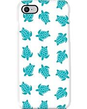 turquoise turtles mask Phone Case thumbnail