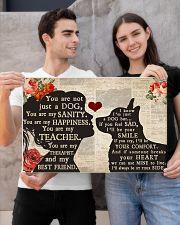corgi girl poster 24x16 Poster poster-landscape-24x16-lifestyle-21