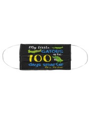 My little gators are 100 days smarter Cloth face mask aos-face-mask-coverlet-lifestyle-front-01